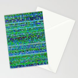Aquamarine frequency Stationery Cards