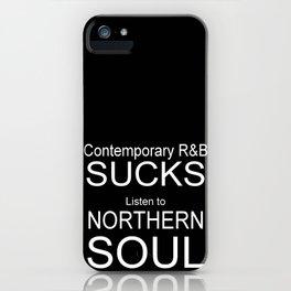 Contemporary R&B Sucks iPhone Case