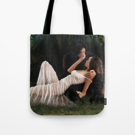 The Woods Are Lovely, Dark and Deep Tote Bag