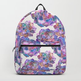 Rosette Succulents – Galaxy Palette Backpack