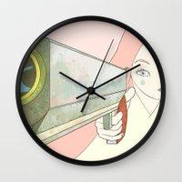 big bang Wall Clocks featuring BIG BANG ♥ by PAUL PiERROt