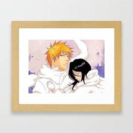 Bleach: Ichigo X Rukia Framed Art Print