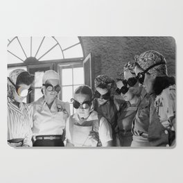 Women During WWII in Vocational School Cutting Board