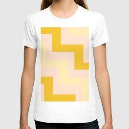Chevron diagonal 90s T-shirt