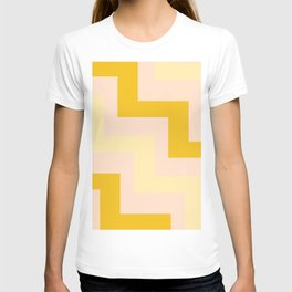 Chevron diagonal 90s T-shirt