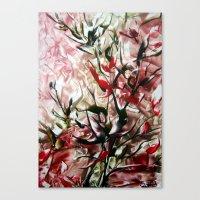 magnolia Canvas Prints featuring Magnolia by ART de Luna