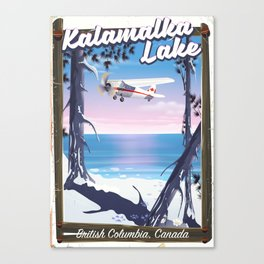 kalamalka lake, British Columbia Canada Canvas Print