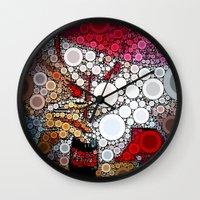 coke Wall Clocks featuring Drink Coke by Jason Perkins Designs