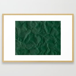 Crumpled Paper 01 Framed Art Print