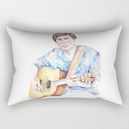 Sam Woolf - Watercolor Rectangular Pillow