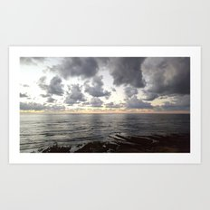 Sunset Cliffs, San Diego Art Print
