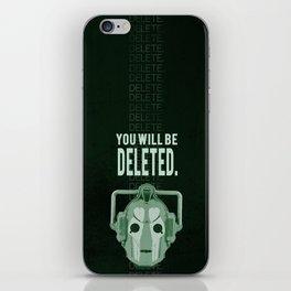 Doctor Who: Cybermen Print iPhone Skin