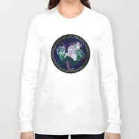 ursula Long Sleeve T-shirts featuring Ursula by Mazuki Arts