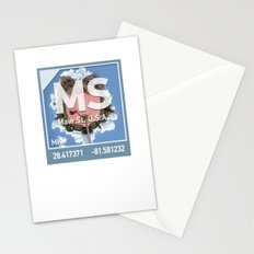 Photographic Element for Main Street USA Stationery Cards