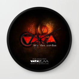 "Vaca - MP: ""Vaca - Era das Cordas"" Wall Clock"