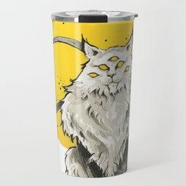 The Alien Cat Travel Mug