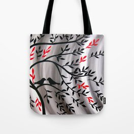 Weathering The Storm Together Tote Bag