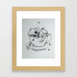 Green Tea Framed Art Print