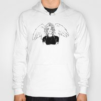 kendrawcandraw Hoodies featuring Wings by kendrawcandraw