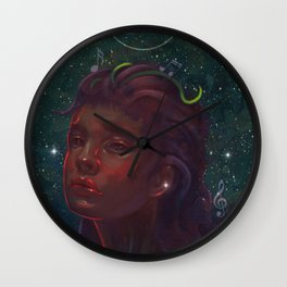 Star lullaby Wall Clock