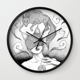 The killing Moon Wall Clock