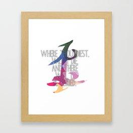 Parabatai Quote Framed Art Print
