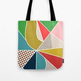 color segments 002 Tote Bag