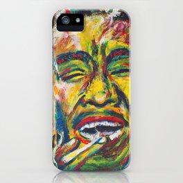 Rastafari Bob iPhone Case