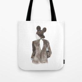 Black in Paris Tote Bag