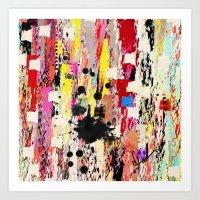 Girl Talk Art Print
