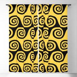 Retro Wave Pattern 247 Blackout Curtain