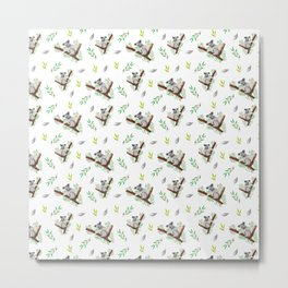 Koala Pattern #3 Metal Print