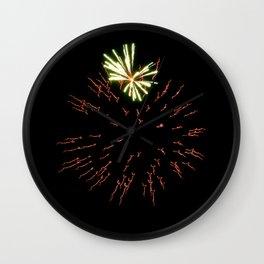Fireworks 6 Wall Clock