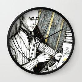 Fen'harel's sketchbook Wall Clock