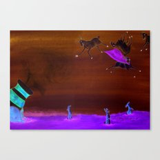 Sheep Shenanigan's Canvas Print