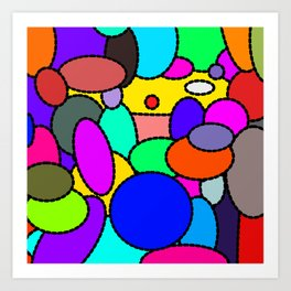 Smarties Galore Art Print