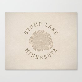 Stump Lake Canvas Print