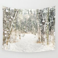 Winter Woods Wall Tapestry