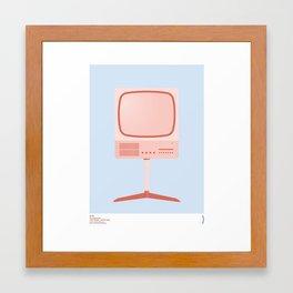 Braun FS 80 Television Set - Dieter Rams Framed Art Print