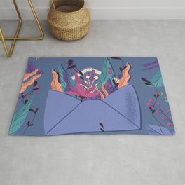 Love Letter, Happy Valentine's Day Rug