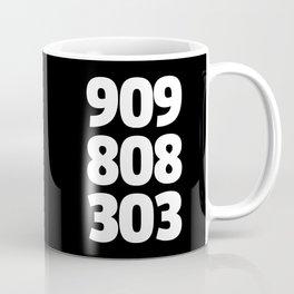 909/808/303 Dance Music Quote Coffee Mug