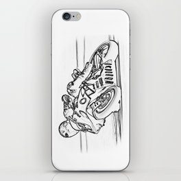 Racing at Brands Hatch iPhone Skin