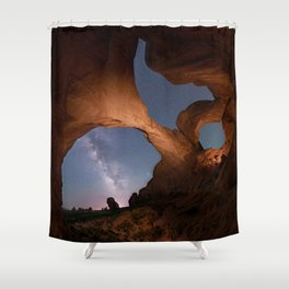 Double Arch in Arches National Park 2 Shower Curtain
