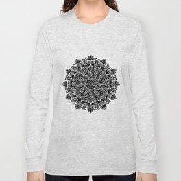 Mandala: Skeleton Leaves Long Sleeve T-shirt