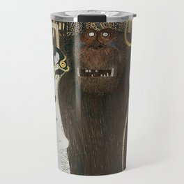 BEETHOVEN FRIEZE - GUSTAV KLIMT Travel Mug