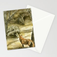 The Tortoise and the Hare Stationery Cards