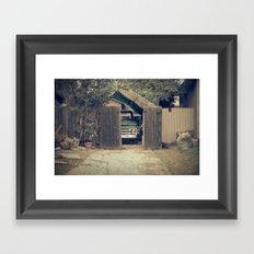 safe at home Framed Art Print