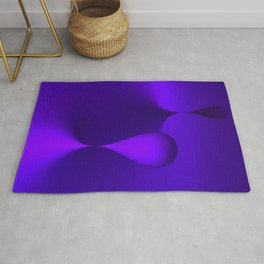 the color lilac Rug