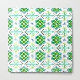 Spanish Tile 3 Metal Print
