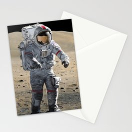 The Last Man on the Moon Stationery Cards